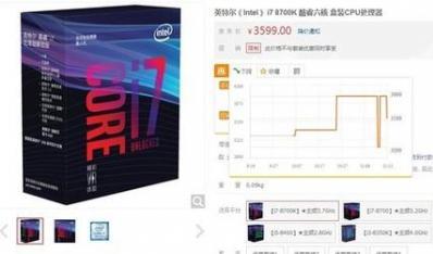 Intel 8代酷睿i7行货降回发行价:早买的就亏了