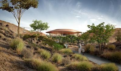 阿曼荒山峡谷的植物园将启幕 中东游不只有迪拜
